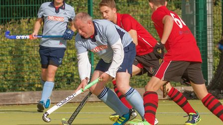 Action from a game involving St Neots Men's 1sts last season.