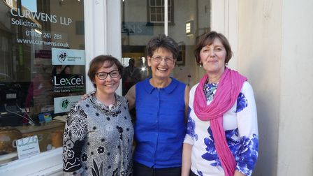 Selena Bragg, Maggie Allen and Christine Norman are to exhibit their work at Curwens in Royston.