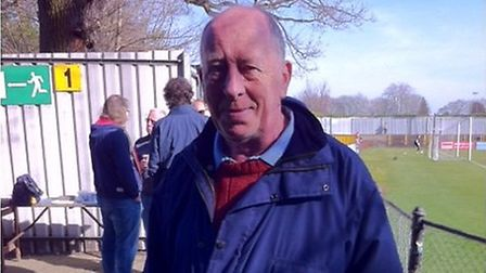Clive Churchhouse, who died in July after falling from the roof of St Albans City FC. Photo: SACFC