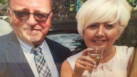 Andrew and Josephine Minshull lost their travel money in Royston. Picture: Herts police