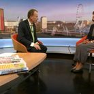 Caroline Flint on the BBC's Andrew Marr Show. Photograph: BBC.