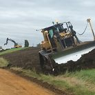 Work has begun on the 10.5million Ouse Washes Reservoir scheme