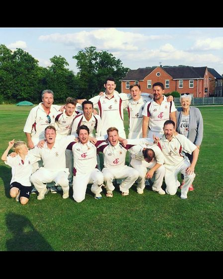 Harpenden 2nds took the SHCL Division One title by beating Northwood.