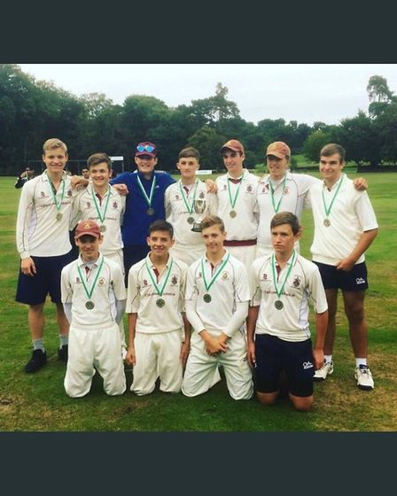 Harpenden U17s won the county cup against Letchworth.