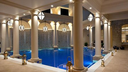 The spa of The Gainsborough.