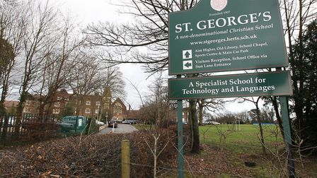 St George's is one of three state secondary schools in Harpenden - and a fourth is due to open in Se