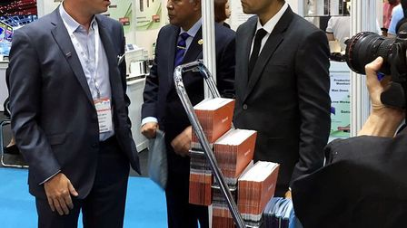 Hail Weston firm Tensor demonstrated at IFSEC South East Asia