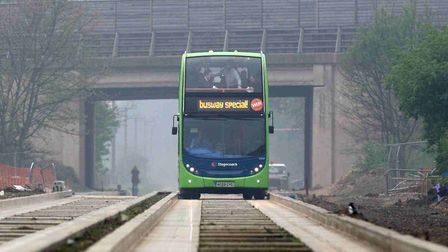 GUIDED: Warning of half term repairs on the busway
