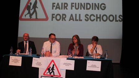 The meeting of 'Fair Funding for All Schools in St Albans'