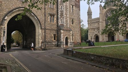 The Abbey Gateway and the Cathedral are part of the city's rich history
