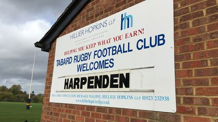 Cobden Hill played host to Tabard's derby clash with Harpenden in London North West Three.