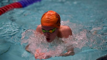 James Quinn completed a breaststroke double.