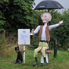 The Flamstead scarecrow festival draws many visitors to the village