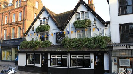 The Boot Inn in Market Place, St Albans. Photo: Danny Loo.