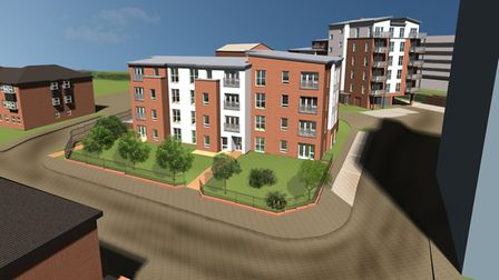 Beaufort House, Hightown's soon-to-be-completed project. Photo supplied by Hightown housing associat