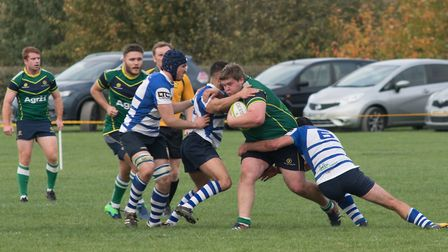 Action from Stags' defeat to Kettering last Saturday. Picture: www.sportspictures.online