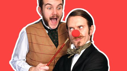 Morgan & West are performing new show, More Magic for Kids! at Cambridge Junction. Picture: Morgan &