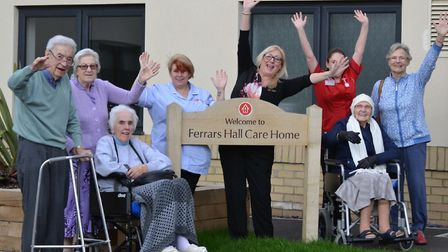 Ferrars Hall Care Home is in line for two national awards.