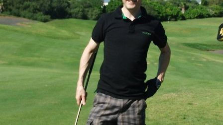 Paul Barker raised money for charity through his golf day events.