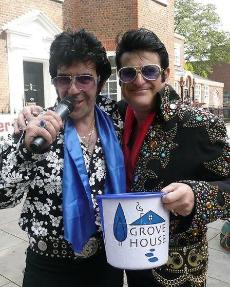 Elvis Shmelvis at St Albans Band Aid.
