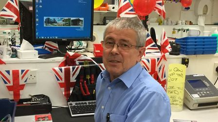 Roy Allen retires from the NHS after more than 40 years.