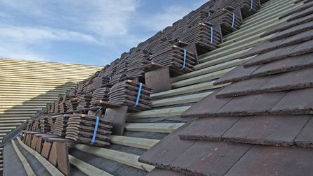 Patching up an old roof can be a false economy - it may be expensive, but a new roof is often advisa