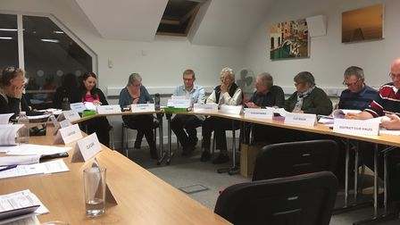 Publishing the grievance report was discussed by Melbourn Parish Council yesterday evening.