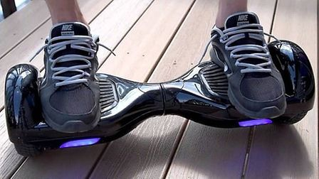Police issue hoverboard warning. FILE PHOTO