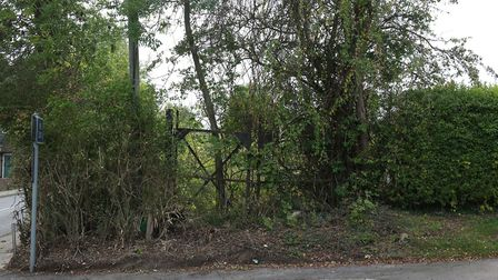 The former allotment site on Sandridge High Street. Picture: Danny Loo
