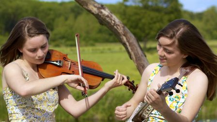 The Carvick Sisters will perform at St Neots Folk Club on October 11