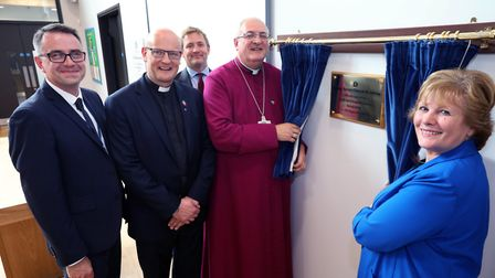 The official opening of Ermine Street Church Academy, in Alconbury.