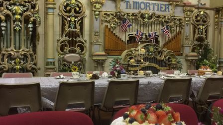 Vintage afternoon tea event at the St Albans Organ Theatre