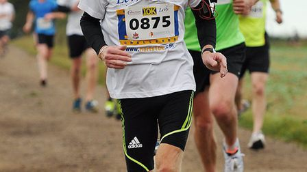 Paul Sutton in the Herts 10K - picture by SussexSportPhotography