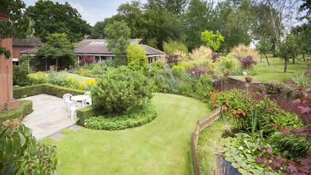 The property has beautifully landscaped gardens