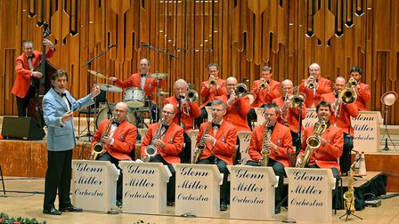 The Glenn Miller Orchestra is at the Cambridge Corn Exchange