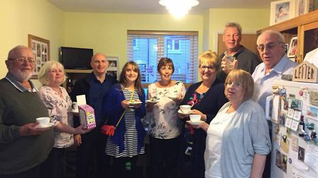 Sue Shaw's coffee morning at home raised £211. Picture: Tom Shaw