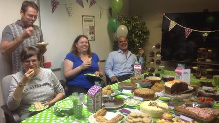 KPM Software Systems Ltd in Royston held their event and raised £196 for the cause Picture: KPM So