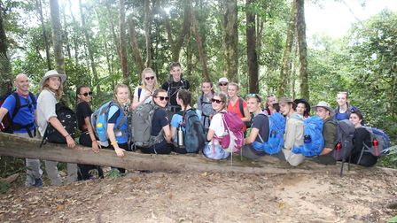 Organised as part of a world challenge, BVC students headed to Malaysia. Picture: BVC