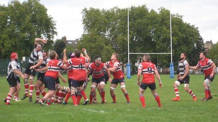 Harpenden were in complete control away to Hammersmith & Fulham.