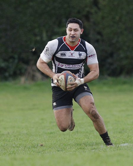 Bobby Tane was one of the Harpenden try-scorers against Hammersmith & Fulham. Picture: KARYN HADDON