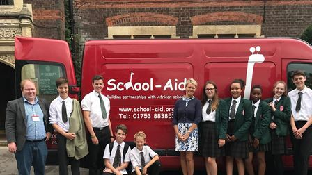 St George's School and School Aid.