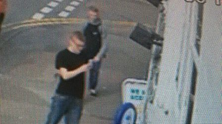 CCTV from the ransacking of Weyman's Nisa Local in Redbourn