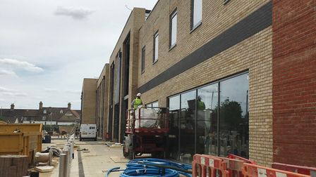 Work is being completed on the Chequers Court development.