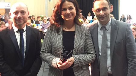 South Cambs MP Heidi Allen has won Sense's Parliamentarian of the Year award. Picture: Jas Sansi