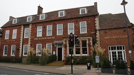 Maggots were discovered at The Manor House pub, part of the JD Wetherspoon chain, in Royston. Pictur
