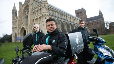 Deliveroo drivers