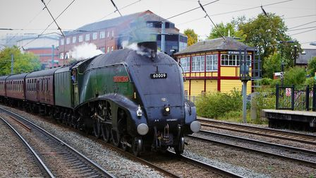 LNER A4 Class, engine 60009, Union of South Africa
