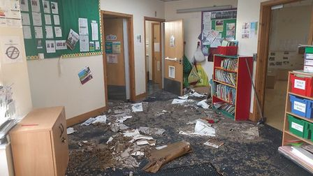 Houghton and Wyton Preschool devestated by flood
