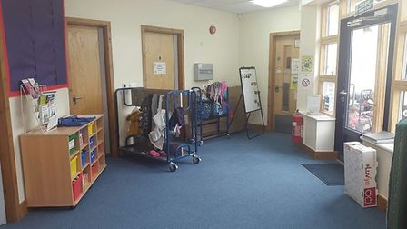 The transformed Houghton and Wyton pre-school.