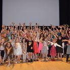The youngsters enjoyed being treated to the film at the Royston Picture Palace. Picture: Kerry Hay